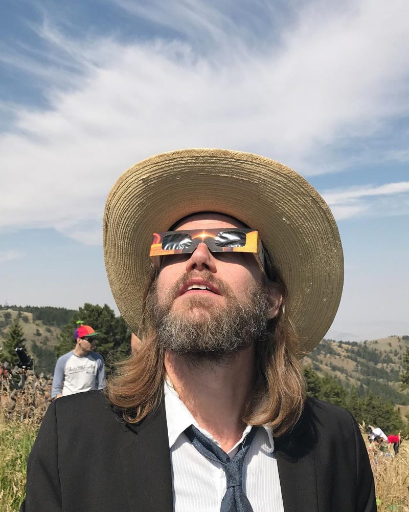 Boyfriend under The Great American Eclipse Eclipse Eclipse2017 EclipseWyoming