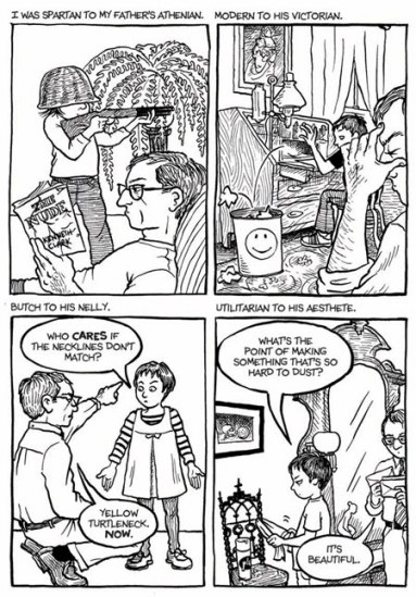 fun home Beginners Guide to Graphic Novels pt. 1 pop culture film  Persepolis Marjane Satrapi Graphic Novels Fun Home Alison Bechdel 