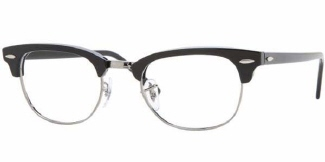 RayBan 5154 eyeglasses 2000 The Best Nerdy Glasses for Your Boyfriend  featured fashion  Warby Parker vintage eyewear retro eyewear Ray Ban Once in a Lifetime Oliver Peoples George McFly glasses featured David Byrne glasses