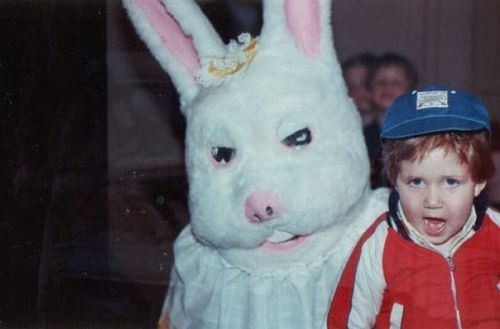 90353536244078823 kfINnAkt f The Most Terrifying Easter Bunny Photos Youll Ever See pop culture featured  Terrifying Easter Bunnies Scary Easter Bunnies Pinterest featured Easter