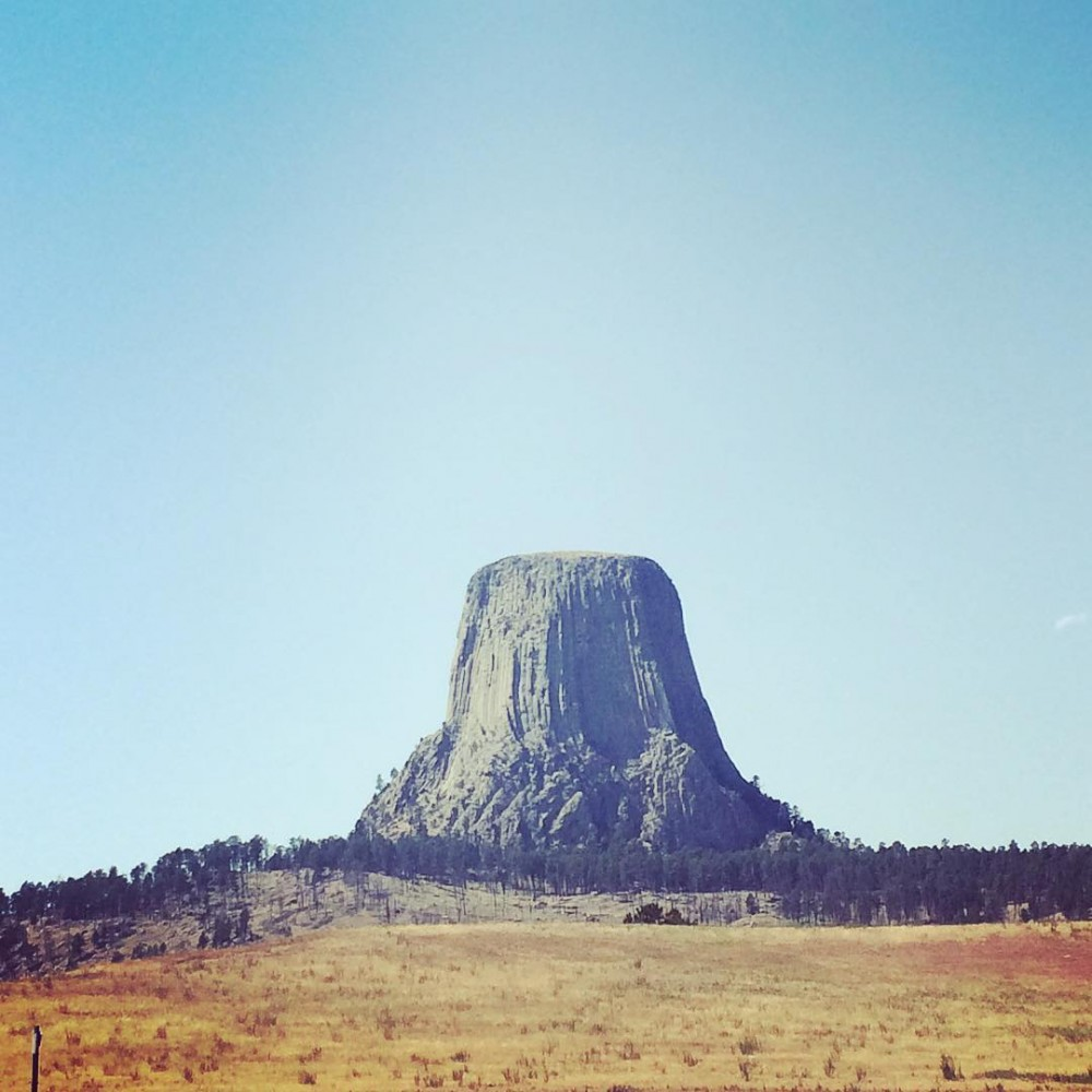 DevilsTower Wyoming  867 feet tall amp Americas first Nationalhellip