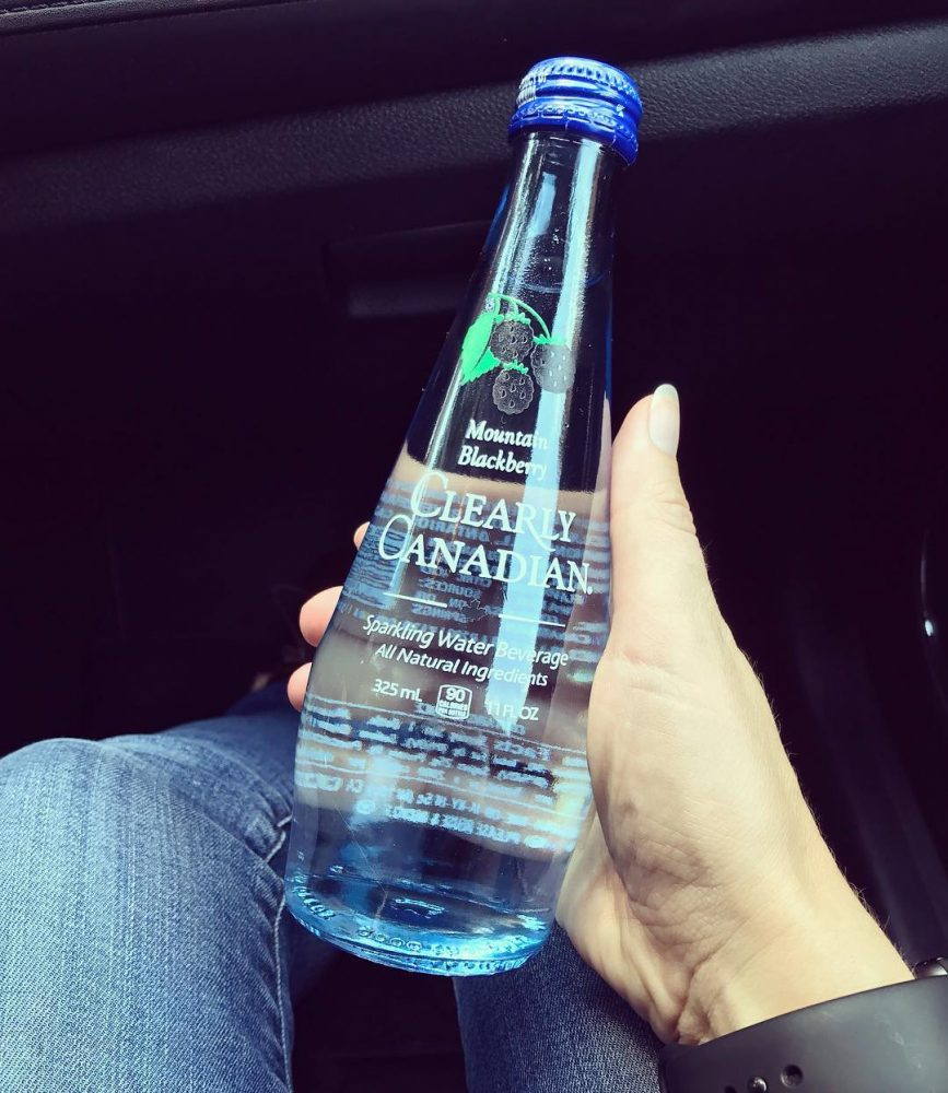 Raise your hand if seeing this makes you happy ClearlyCanadian