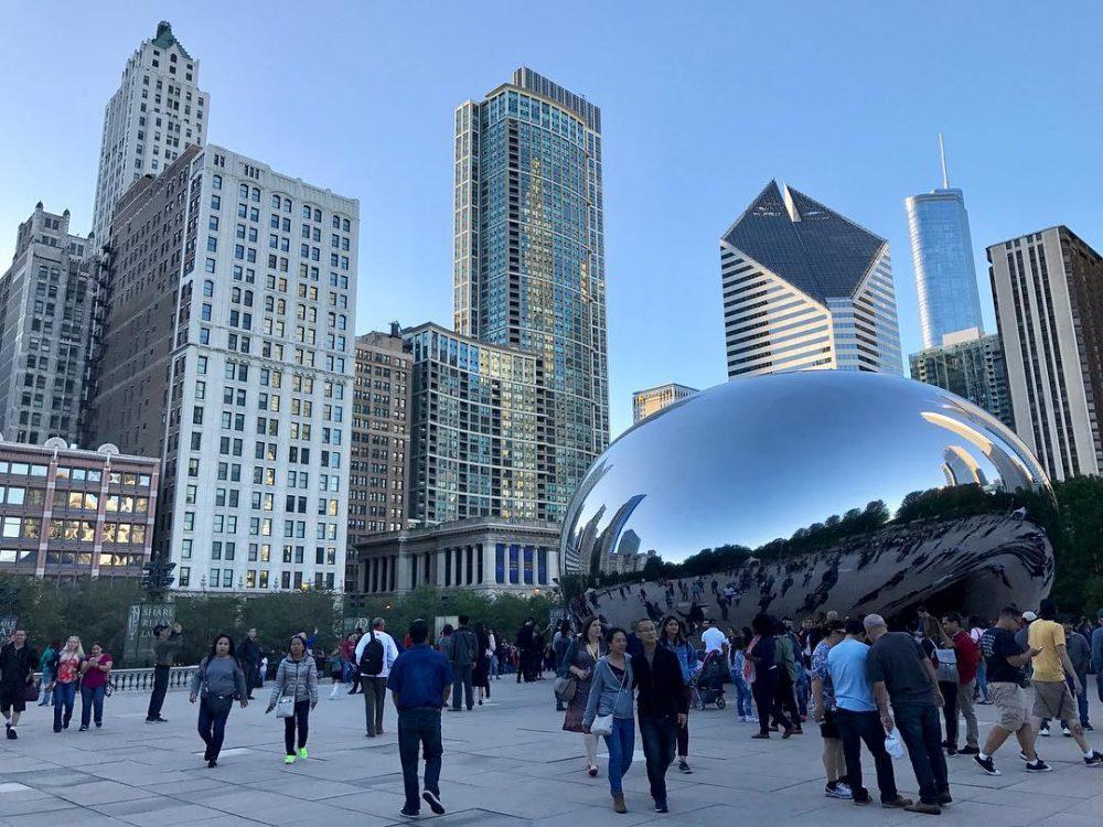 Fivehour layover in Chicago Always love this city! Chicago Chicagobeanhellip