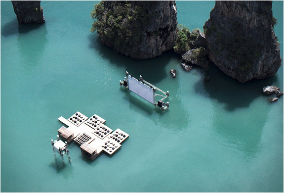archipelago floating cinema 2 Ten Best Pop Up Movie Theaters Around the World  pop culture film featured austin  Thailand Texas ten best pop up movie theaters Rooftop Films Rolling Roadshow pop up movie theaters pop up movie screenings On the Way screenings Moscow London Hollywood Forever Cemetery screenings floating cinema Films on Fridges Film on the Rocks Yao Noi featured Cycle In Cinema Cinespia Cinema East Cannes in a Van Brooklyn Bike In Theater austin Alamo Drafthouse