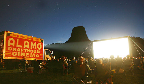rollingroadshow Ten Best Pop Up Movie Theaters Around the World  pop culture film featured austin  Thailand Texas ten best pop up movie theaters Rooftop Films Rolling Roadshow pop up movie theaters pop up movie screenings On the Way screenings Moscow London Hollywood Forever Cemetery screenings floating cinema Films on Fridges Film on the Rocks Yao Noi featured Cycle In Cinema Cinespia Cinema East Cannes in a Van Brooklyn Bike In Theater austin Alamo Drafthouse