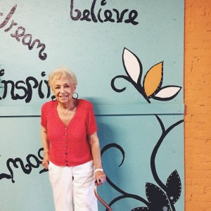 This 88-year-old gal just did yoga for cancer survivors. She…