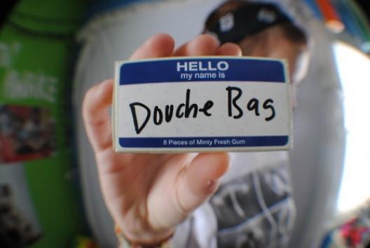 Am i dating a douchebag