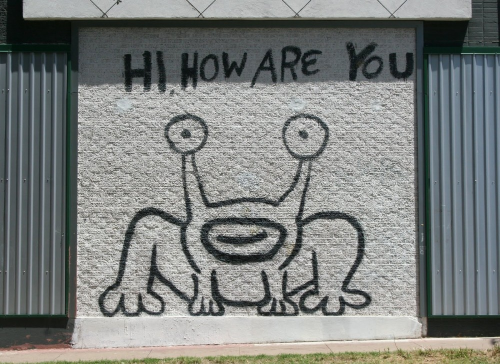 The ultimate list of celebrities who live in or frequent for Daniel johnston mural