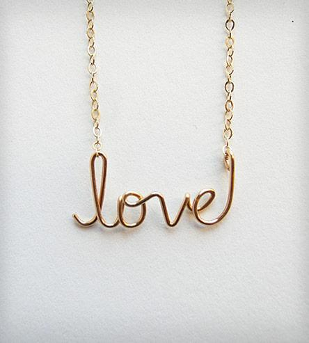 Love Necklace Aziza Jewelry