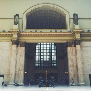 Union Station, #Chicago #Amtrak #trainadventures