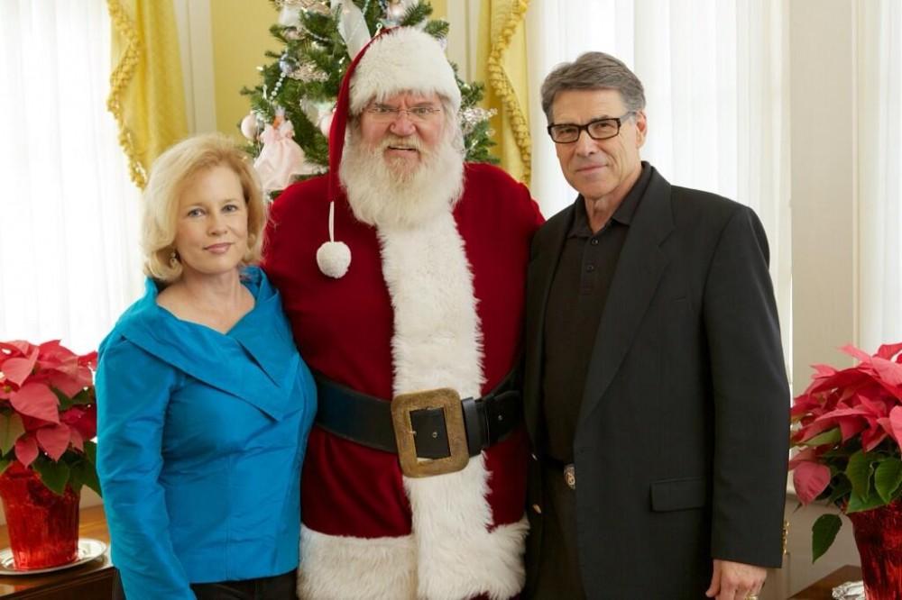 Rick Perry Santa