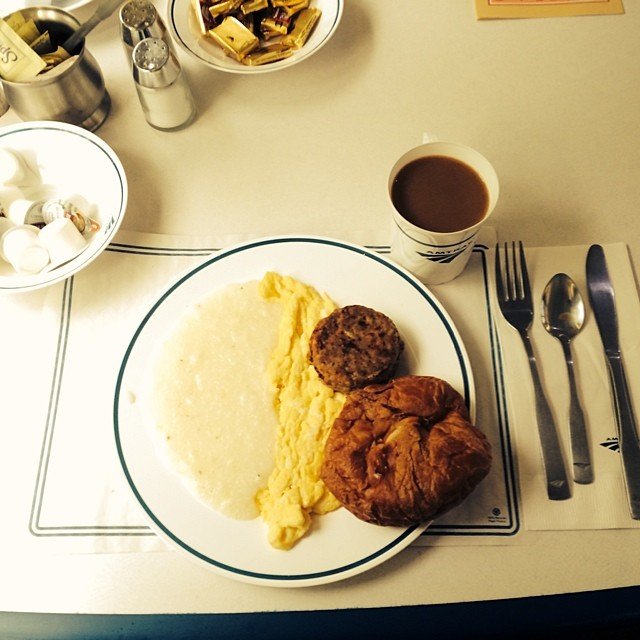Amtrak meal