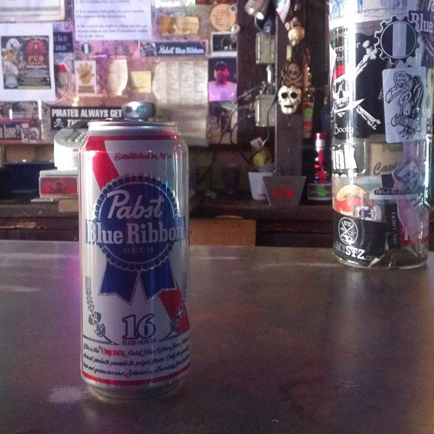 Pabst Blue Ribbon Blue Velvet