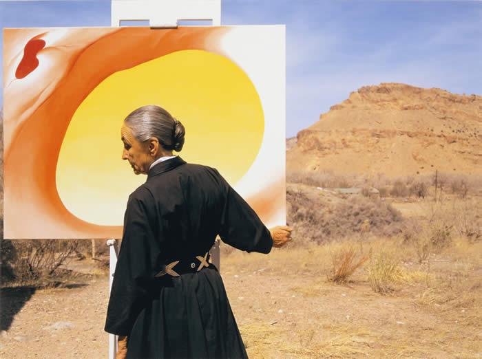 Georgia O'Keeffe New Mexico