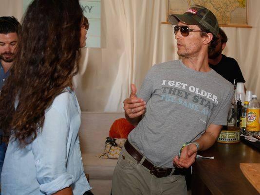 Matthew McConaughey I keep getting older