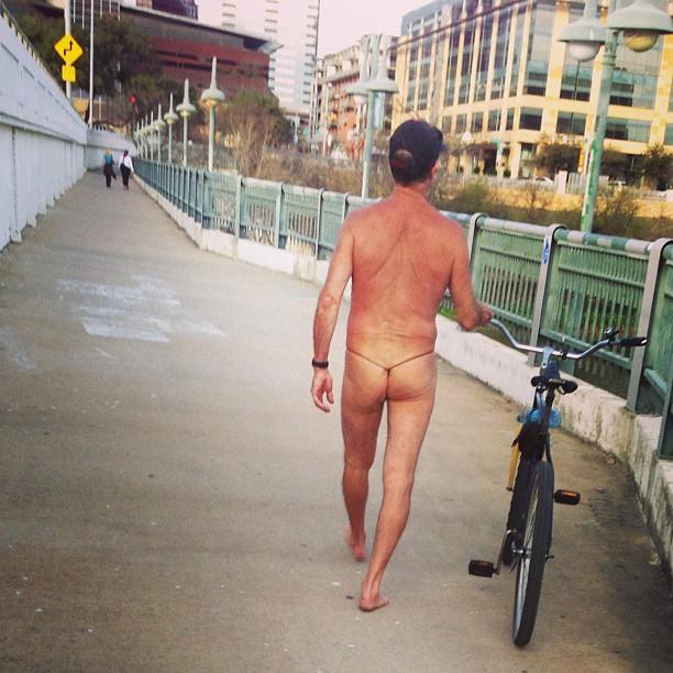 Thong Cyclist Austin