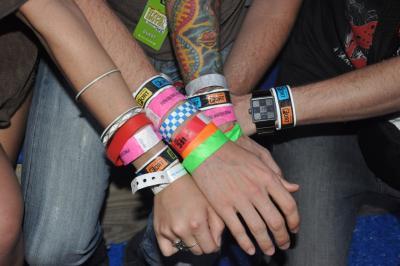 SXSW wristbands