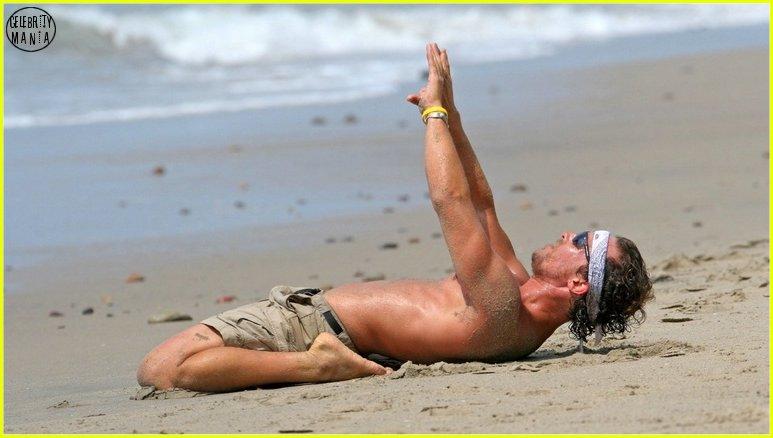 matthew mcconaughey yoga