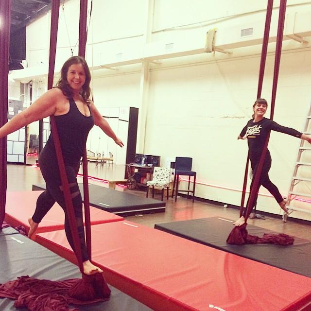 aerial silks austin vamps dance