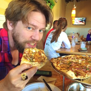 We found deliciousness in Lubbock: @WestCrust. We got the Bombay…