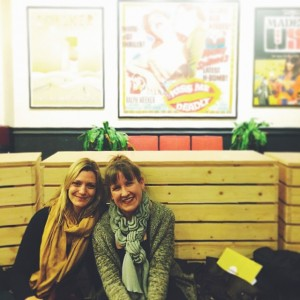 Filmmakers and #Sundance alum Sara Colangelo and Kat Candler. #FilmForward…