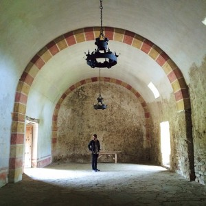 A stop on the San Antonio Missions Hike & Bike…