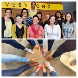 Some of the ladies of @livestrongfoundation are participating in #MMileMonth!…