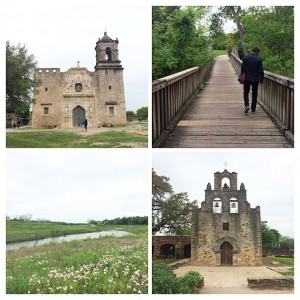 San Antonio's Missions Hike & Bike Trail along the San…