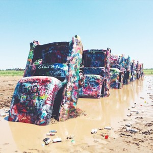 CadillacRanch Texas