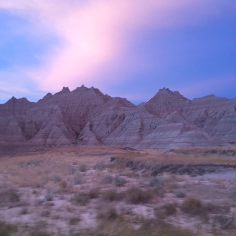 No filter needed in Badlands SouthDakota