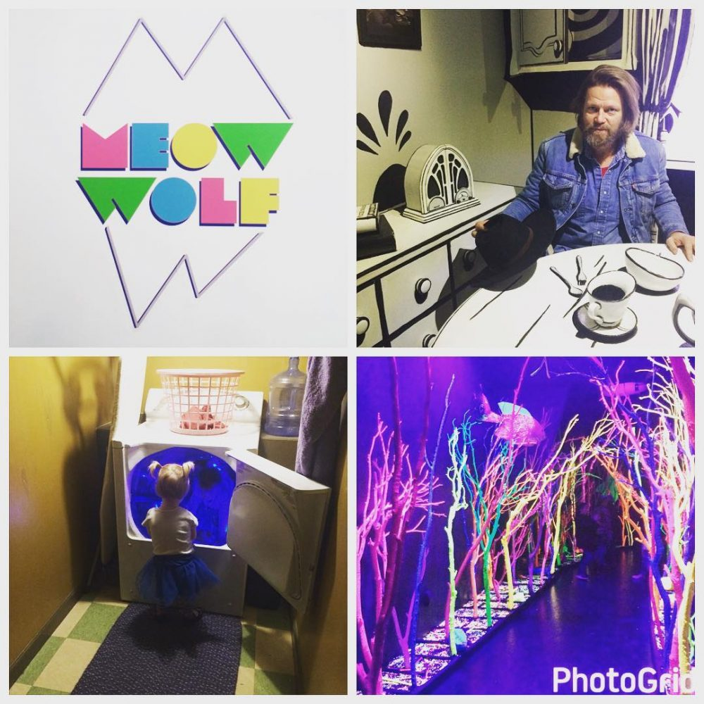Geoff and I went to meowwolfs HouseofEternalReturn in SantaFe Itshellip