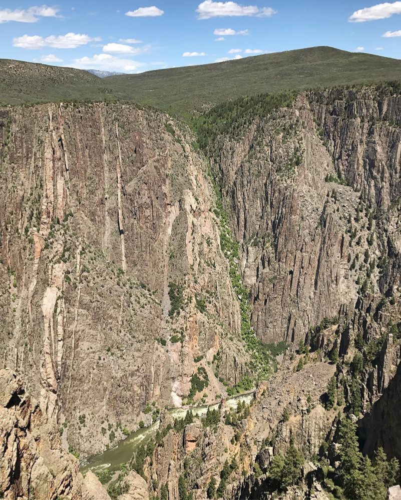 BlackCanyonoftheGunnison should really be turned into a death metal songhellip