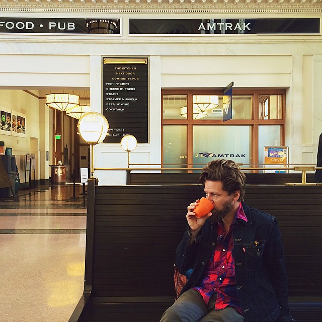 #Denver's newly reopened Union Station is amazing. Beautiful, old-timely feel with great restaurants, cafés and boutiques...and the train!