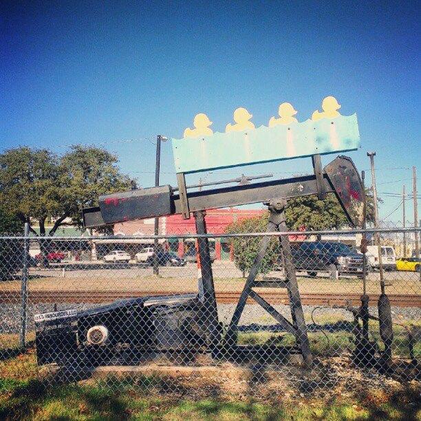 luling artistic pumpjacks texas oil