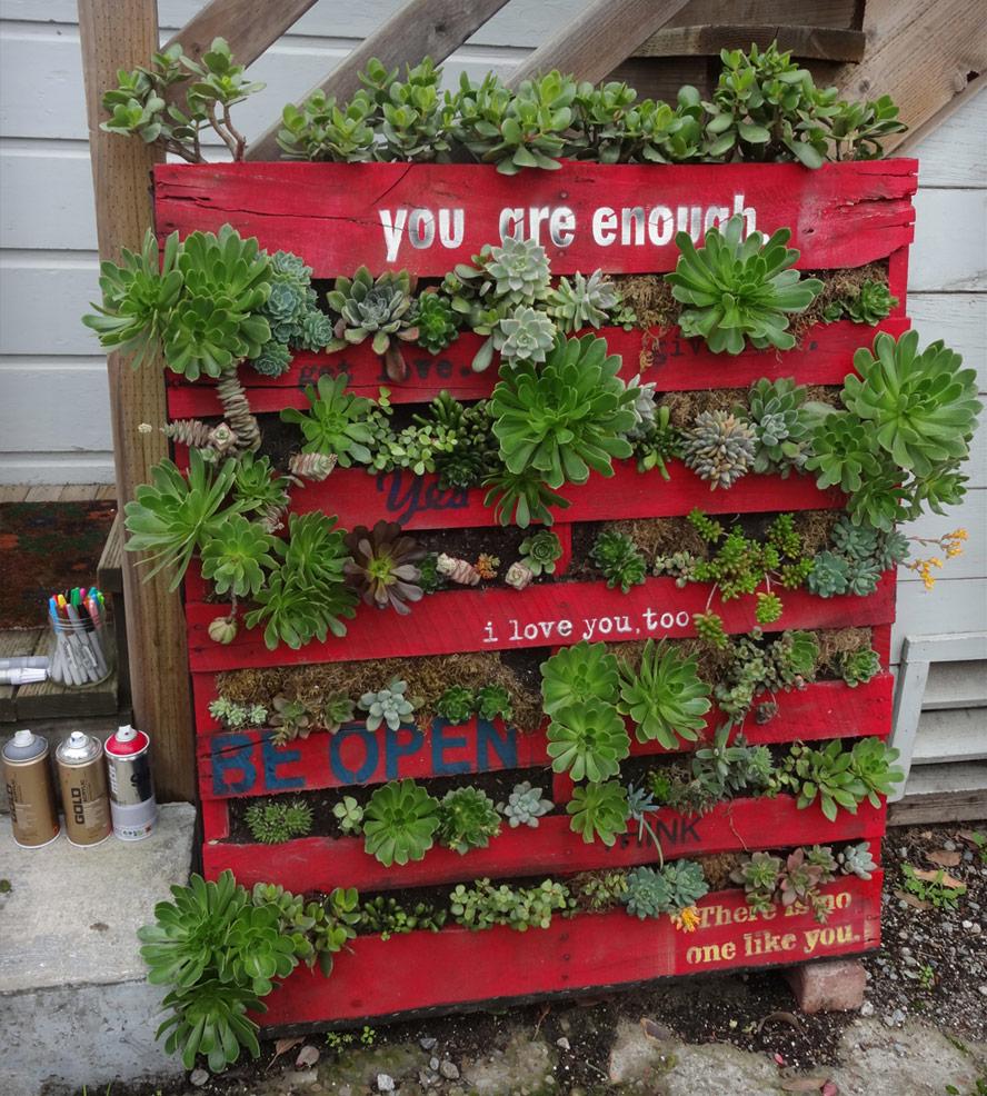 DIY homemade planter