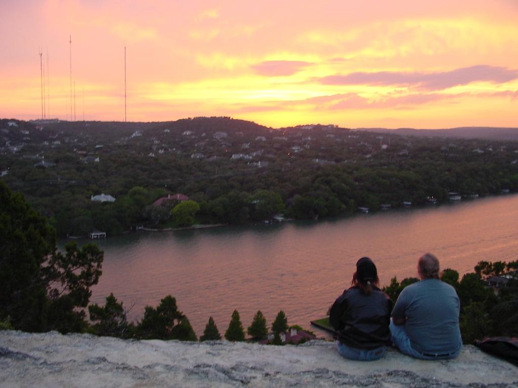 Mount Bonnel sunset