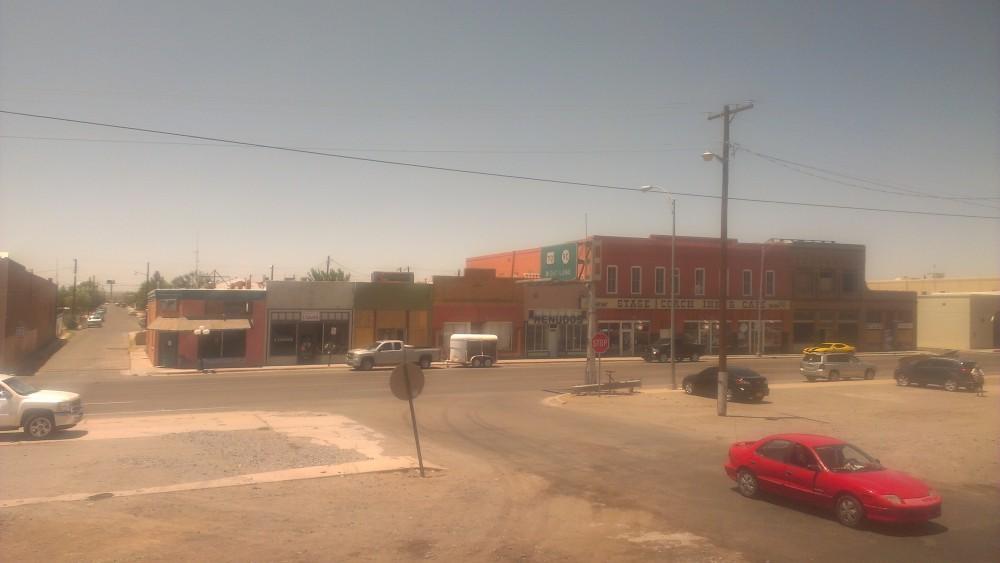 train town deserted