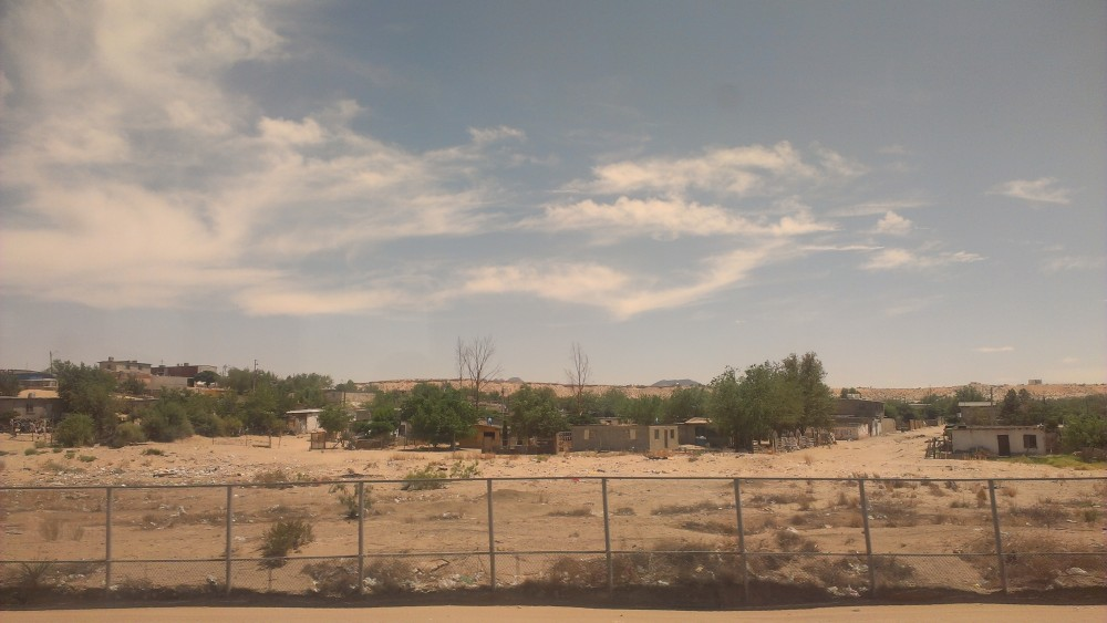 mexico from the train