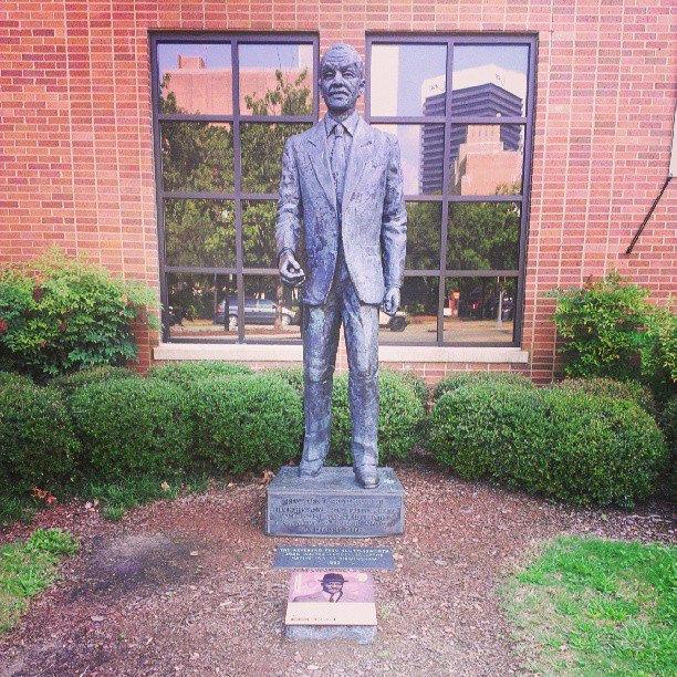 Fred Shuttlesworth statue Civil Rights Institute