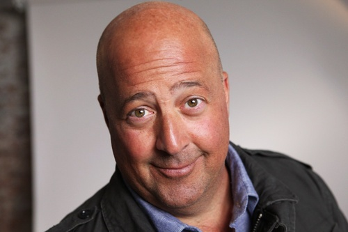 """Andrew Zimmern, Host of """"Bizarre Foods"""" © The Travel Channel, L.L.C."""