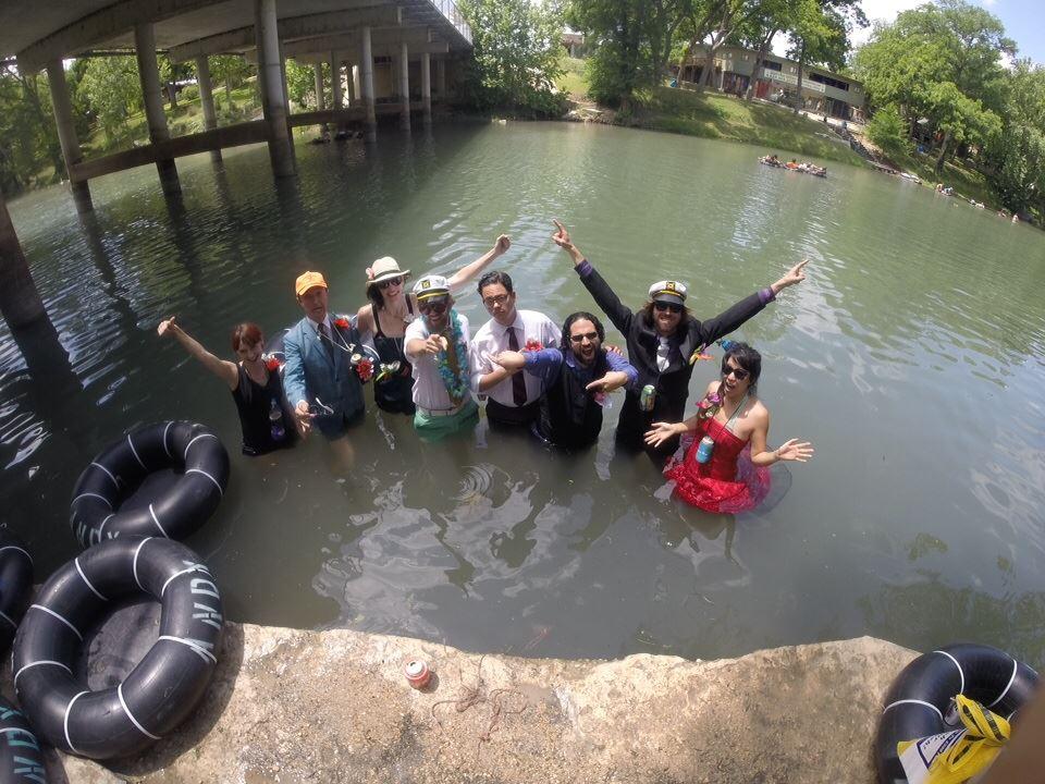 Texas tubing adventure