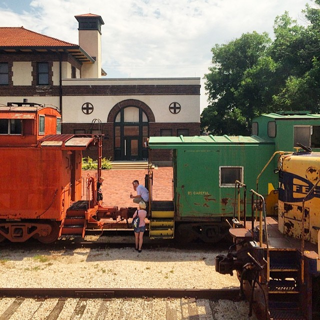 temple texas train station