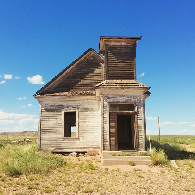 New Mexico ghost town