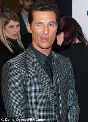 Matthew McConaughey wink