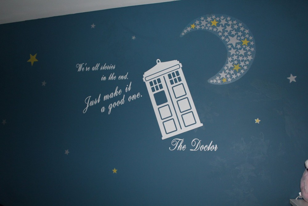 doctor who baby room